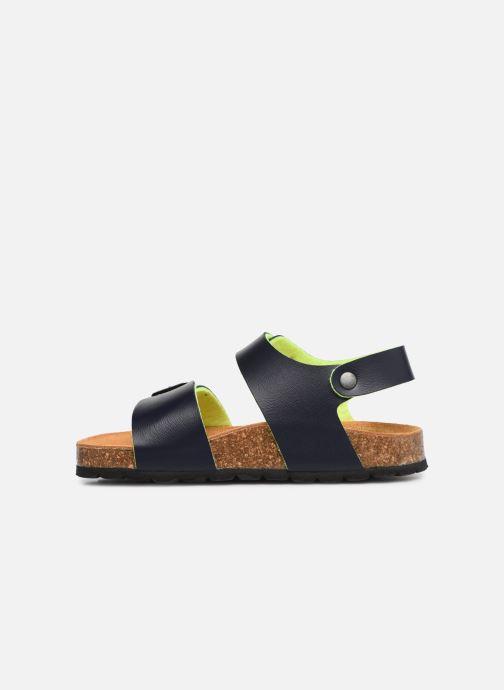 Sandales et nu-pieds I Love Shoes Borini Bleu vue face