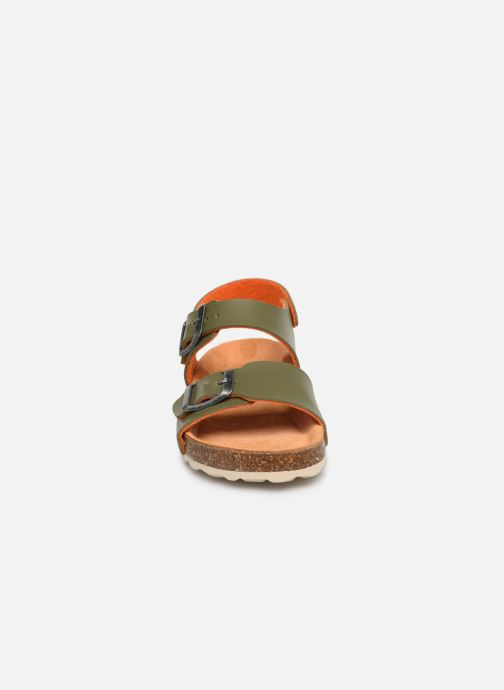 Sandalias I Love Shoes Borini Verde vista del modelo