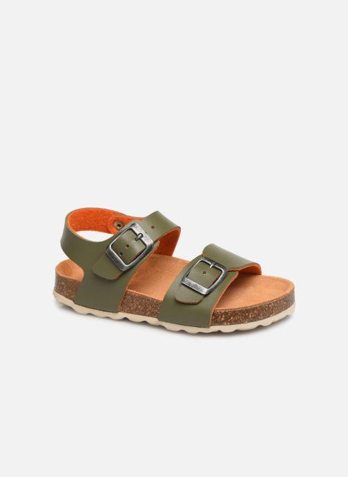 Sandales et nu-pieds I Love Shoes Borini Vert vue détail/paire