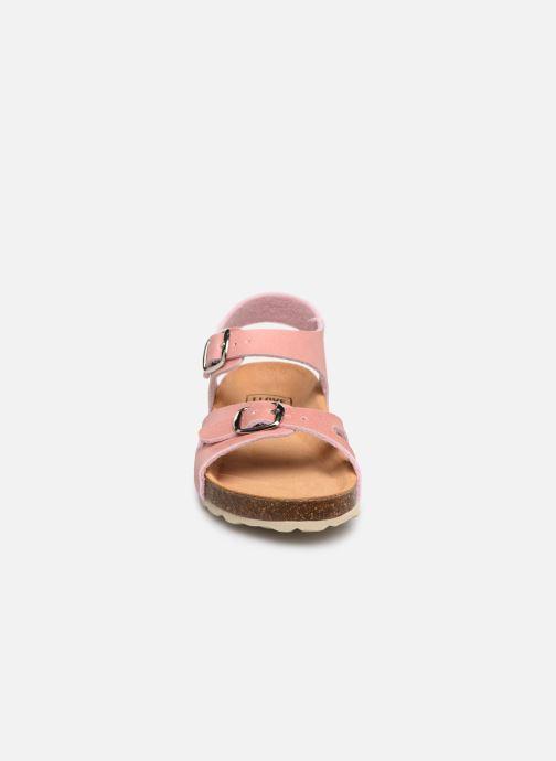 Sandales et nu-pieds I Love Shoes Borini Rose vue portées chaussures