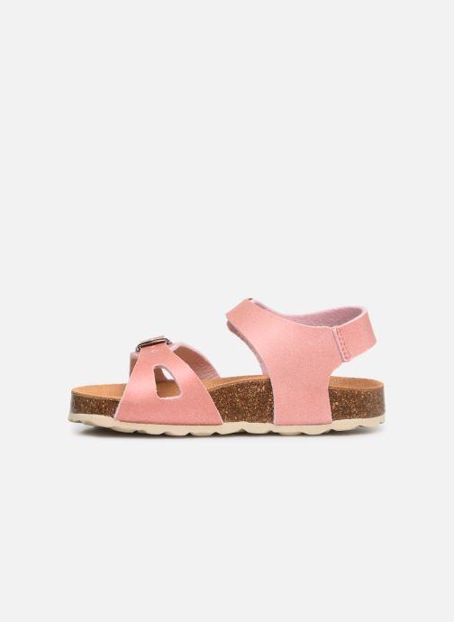 Sandales et nu-pieds I Love Shoes Borini Rose vue face
