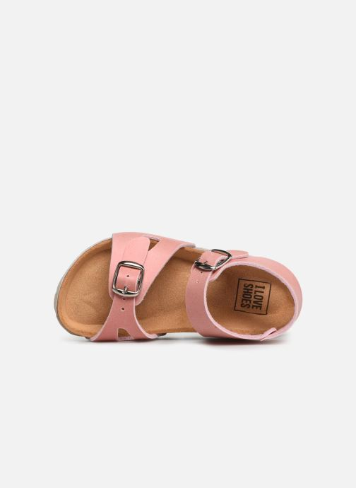 Sandales et nu-pieds I Love Shoes Borini Rose vue gauche