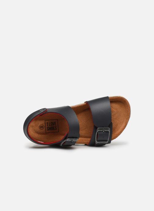 Sandales et nu-pieds I Love Shoes Borini Gris vue gauche