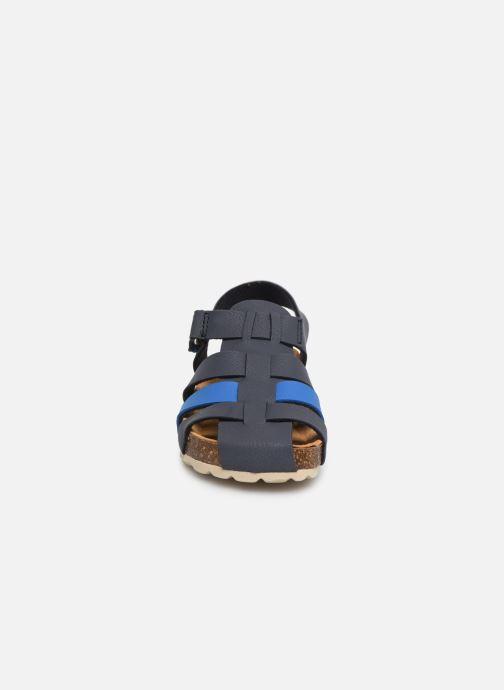 Sandales et nu-pieds I Love Shoes Boliver Bleu vue portées chaussures