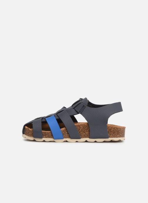 Sandales et nu-pieds I Love Shoes Boliver Bleu vue face