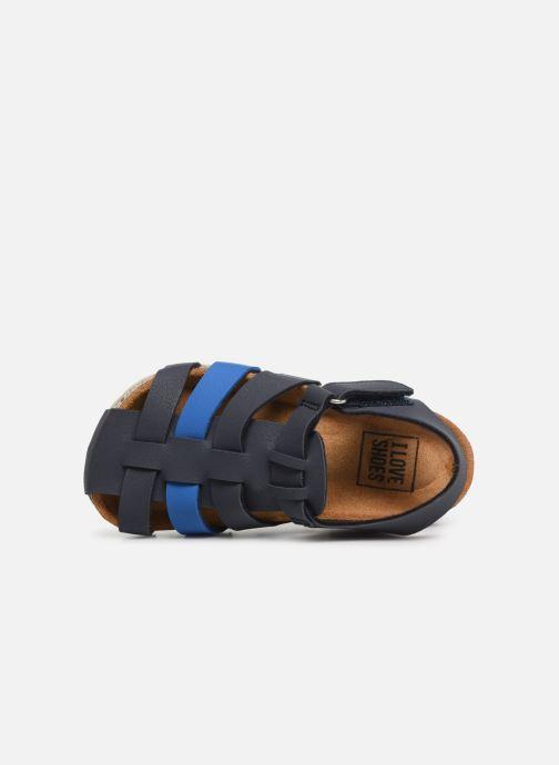 Sandales et nu-pieds I Love Shoes Boliver Bleu vue gauche