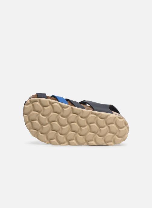 Sandales et nu-pieds I Love Shoes Boliver Bleu vue haut