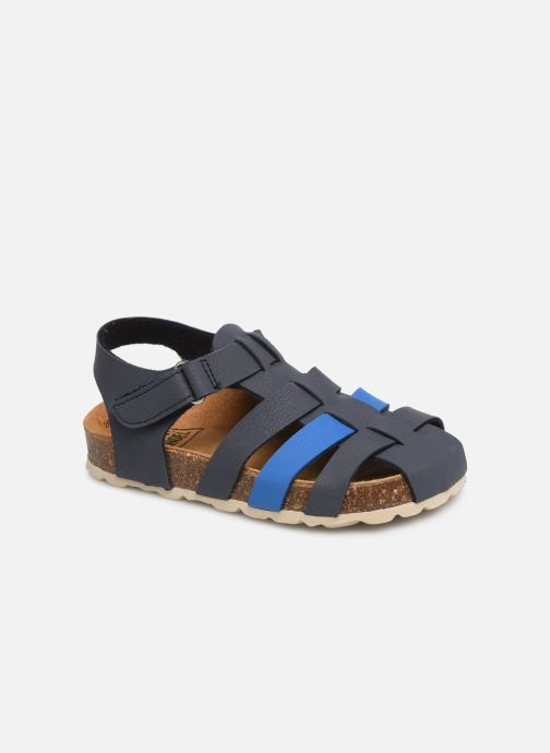 Sandales et nu-pieds I Love Shoes Boliver Bleu vue détail/paire