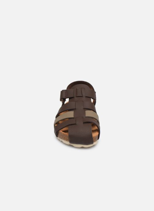 Sandalias I Love Shoes Boliver Marrón vista del modelo