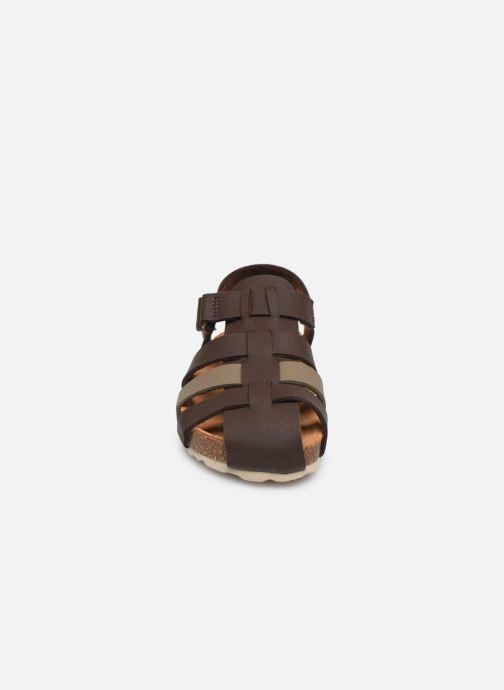 Sandales et nu-pieds I Love Shoes Boliver Marron vue portées chaussures