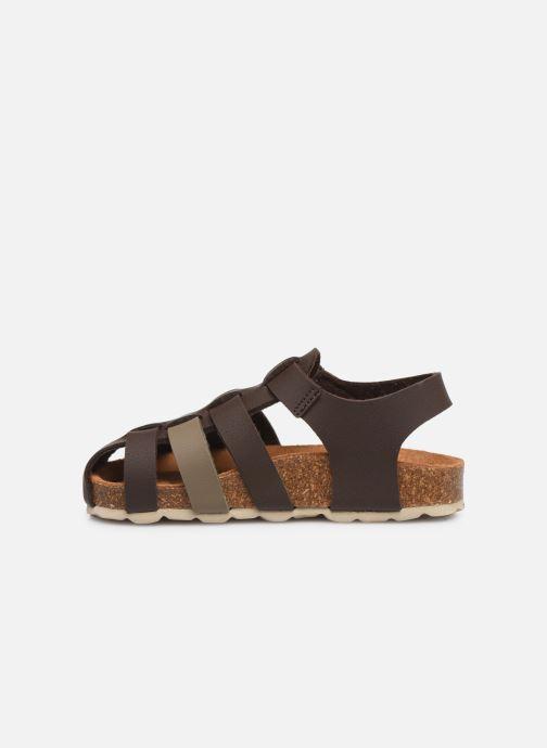 Sandales et nu-pieds I Love Shoes Boliver Marron vue face