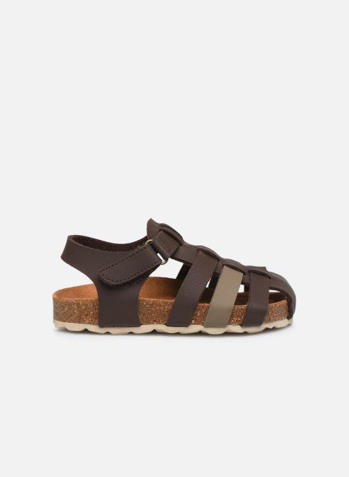 Sandales et nu-pieds I Love Shoes Boliver Marron vue derrière