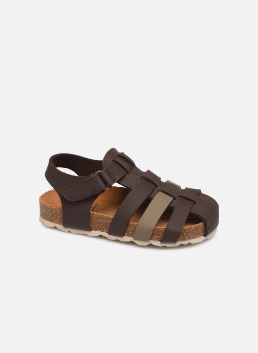 Sandales et nu-pieds I Love Shoes Boliver Marron vue détail/paire