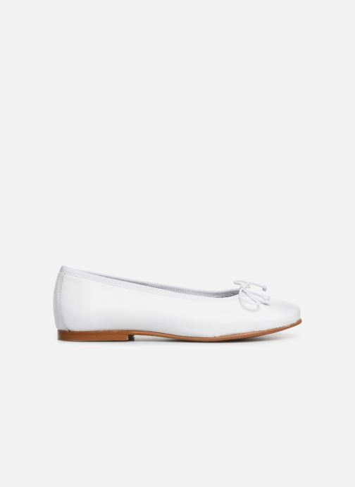 Ballerines I Love Shoes Boreli Leather Blanc vue derrière