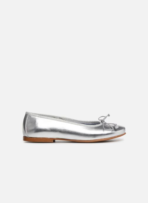 Ballerines I Love Shoes Boreli Leather Argent vue derrière