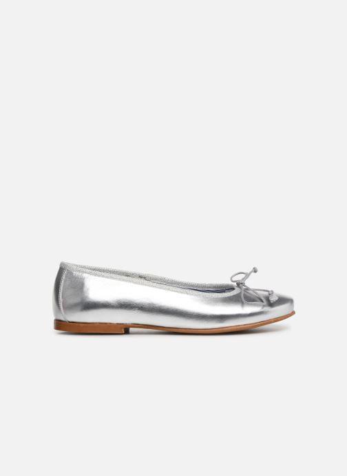 Bailarinas I Love Shoes Boreli Leather Plateado vistra trasera