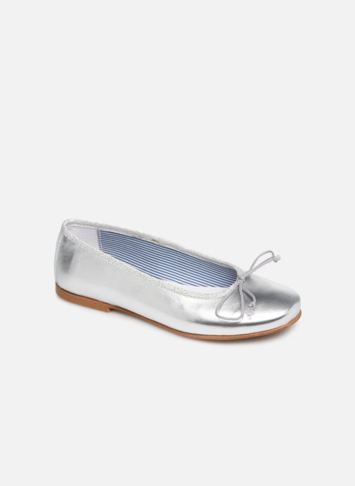 Ballerines I Love Shoes Boreli Leather Argent vue détail/paire