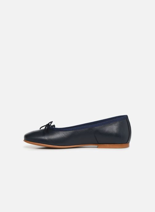 Ballerines I Love Shoes Boreli Leather Bleu vue face