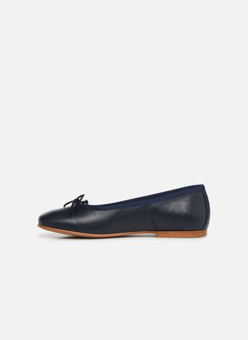 Ballerine I Love Shoes Boreli Leather Azzurro immagine frontale