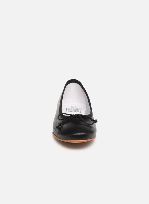 Ballerina I Love Shoes Boreli Leather Svart bild av skorna på