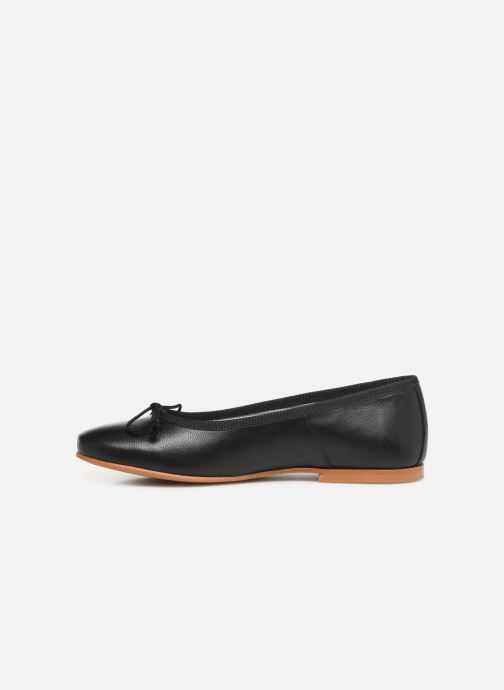 Ballerines I Love Shoes Boreli Leather Noir vue face