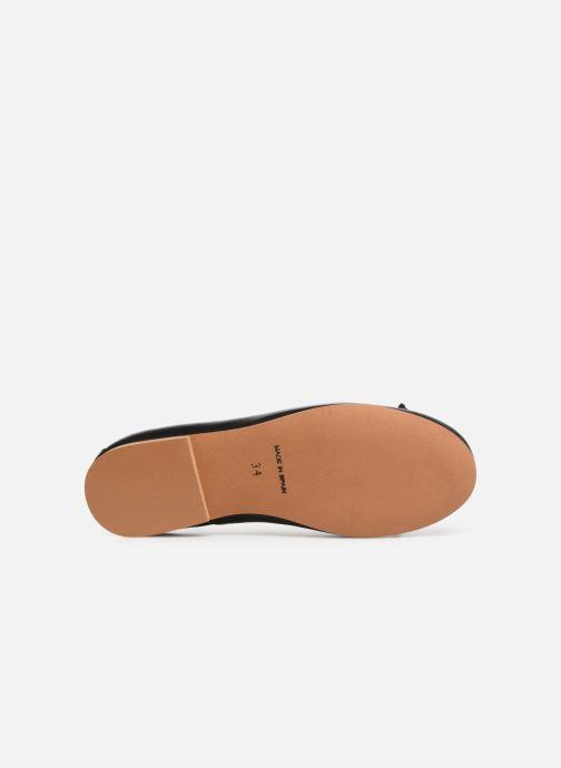 Ballerina I Love Shoes Boreli Leather Svart bild från ovan