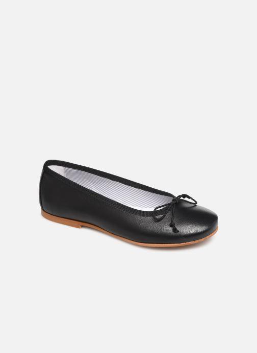 Bailarinas I Love Shoes Boreli Leather Negro vista de detalle / par