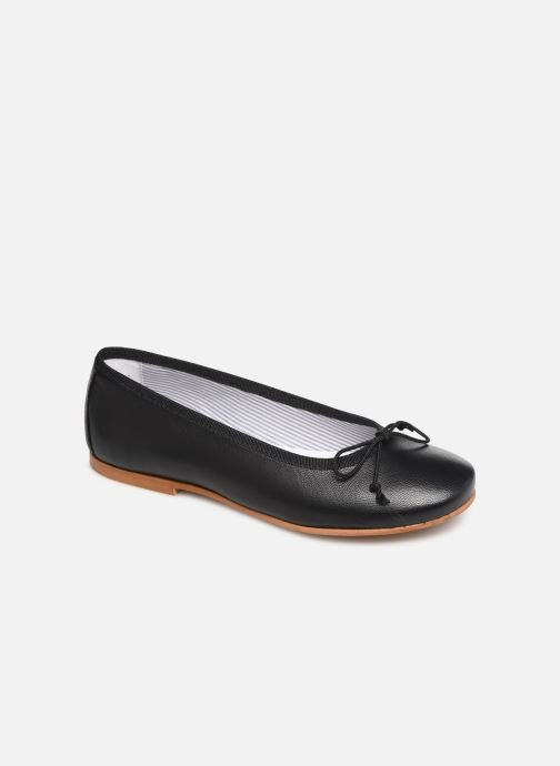 Ballerines I Love Shoes Boreli Leather Noir vue détail/paire