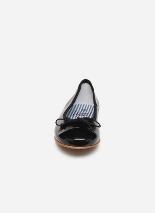Bailarinas I Love Shoes Boreli Leather Negro vista del modelo