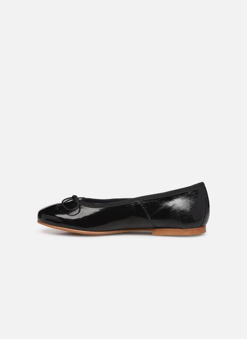 Ballerines I Love Shoes Boreli Leather Noir vue face