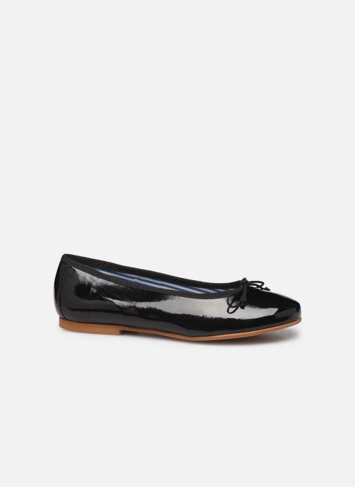 Bailarinas I Love Shoes Boreli Leather Negro vistra trasera