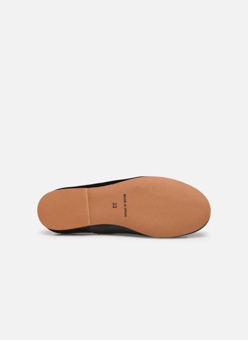 Ballerines I Love Shoes Boreli Leather Noir vue haut