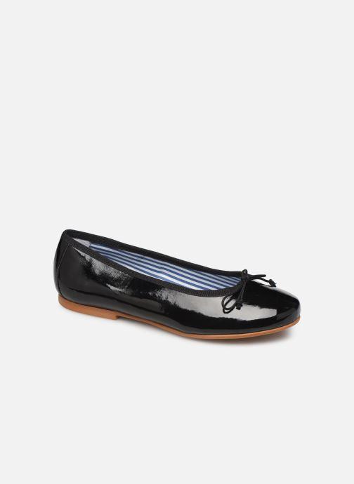 Ballerines I Love Shoes Boreli Leather Noir vue détail/paire