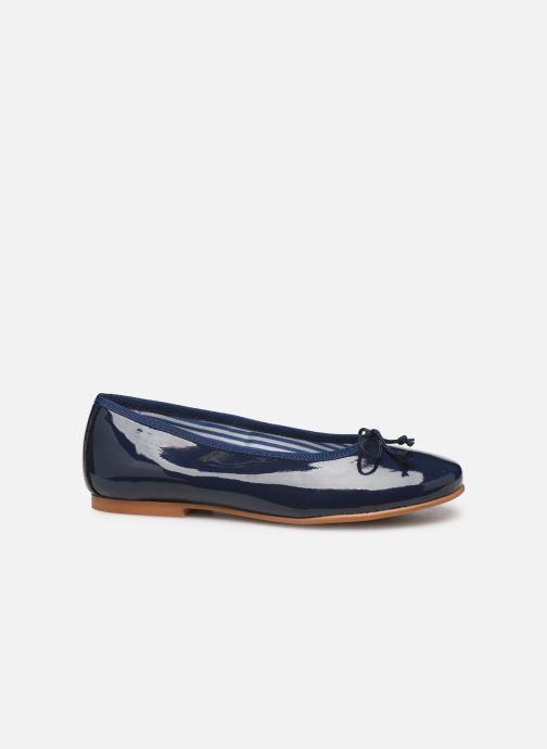 Ballet pumps I Love Shoes Boreli Leather Blue back view