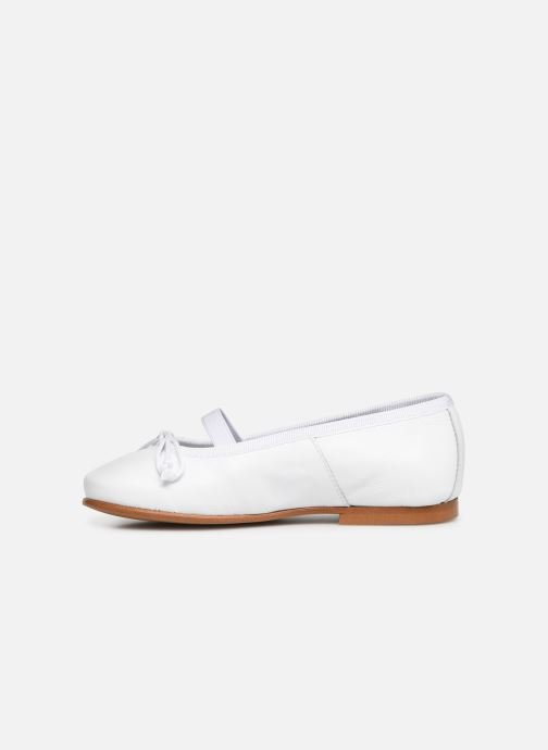 Ballerina's I Love Shoes Borelina Leather Wit voorkant