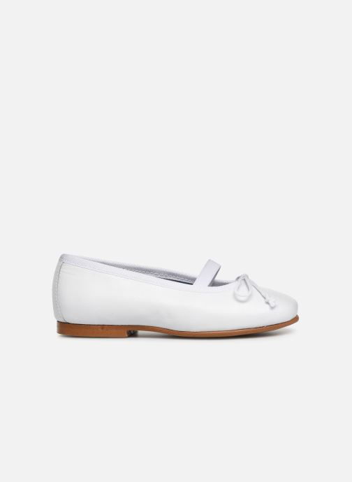 Ballerines I Love Shoes Borelina Leather Blanc vue derrière
