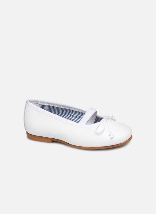Ballerines I Love Shoes Borelina Leather Blanc vue détail/paire