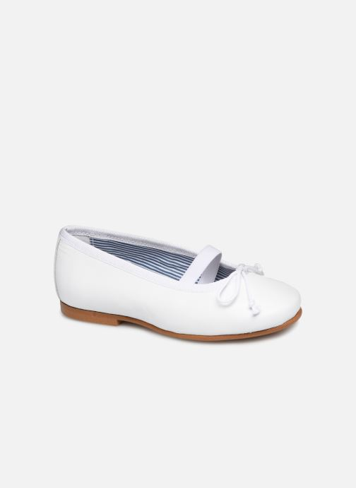 Ballerines I Love Shoes Borelina Leather Blanc vue détail/paire