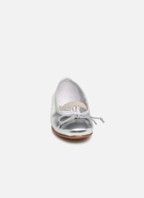 Ballerina I Love Shoes Borelina Leather Silver bild av skorna på