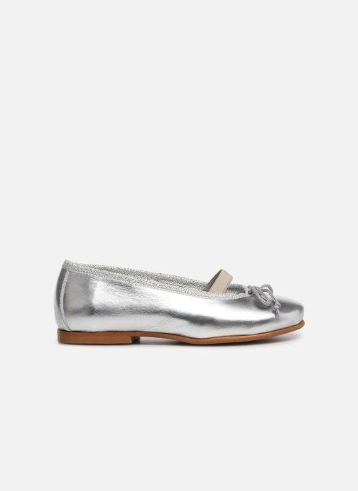 Ballerina I Love Shoes Borelina Leather Silver bild från baksidan