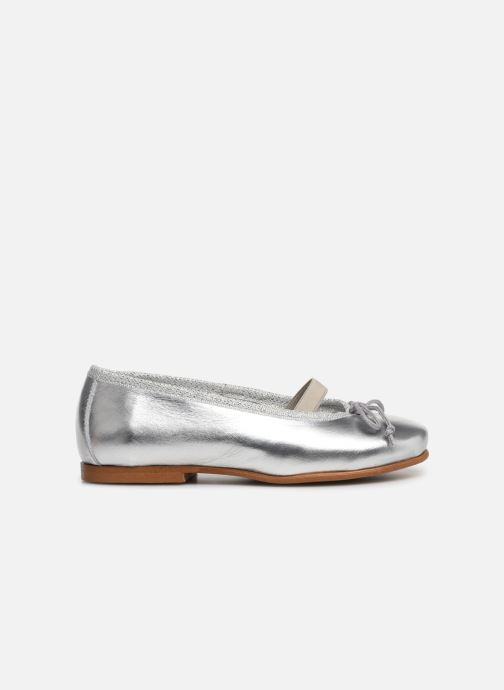 Ballerina I Love Shoes Borelina Leather Silver bild från baksidan