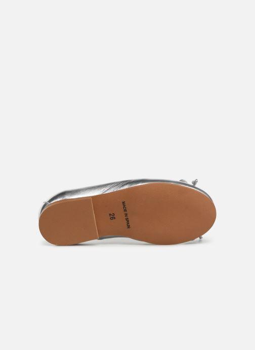 Ballerine I Love Shoes Borelina Leather Argento immagine dall'alto