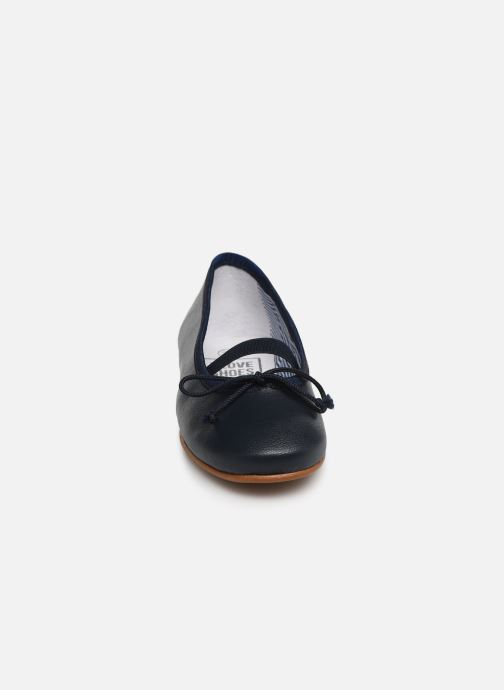 Ballerines I Love Shoes Borelina Leather Bleu vue portées chaussures