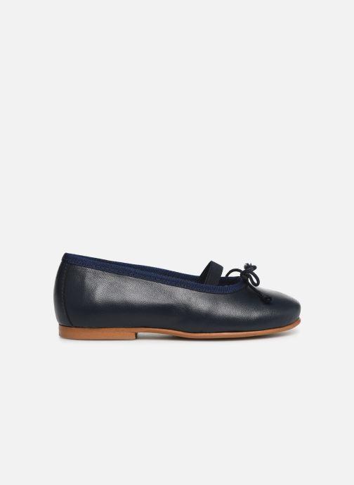 Bailarinas I Love Shoes Borelina Leather Azul vistra trasera