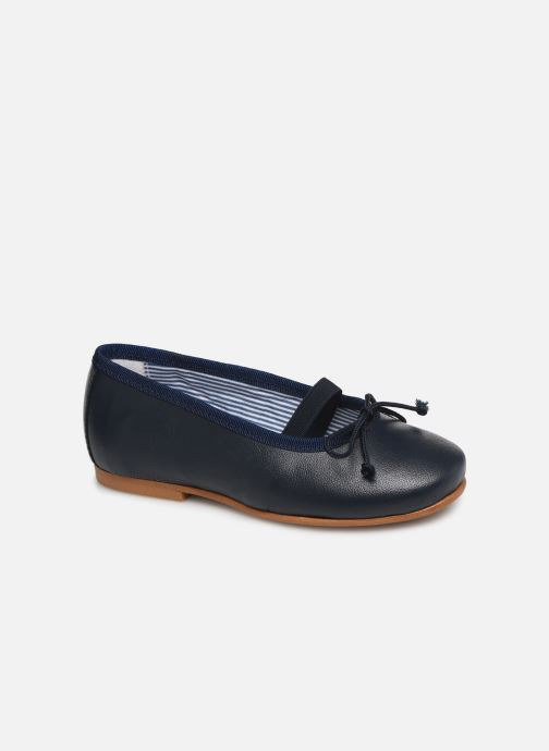 514621663cea Ballet pumps I Love Shoes Borelina Leather Blue detailed view  Pair view