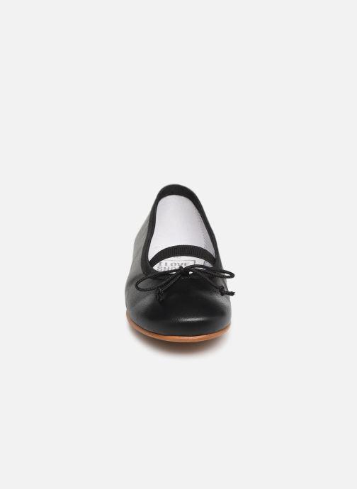 Ballerines I Love Shoes Borelina Leather Noir vue portées chaussures