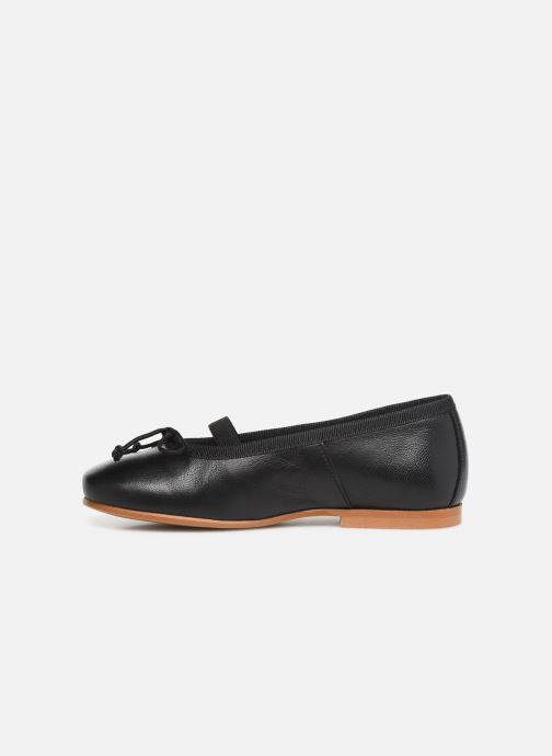 Ballerines I Love Shoes Borelina Leather Noir vue face