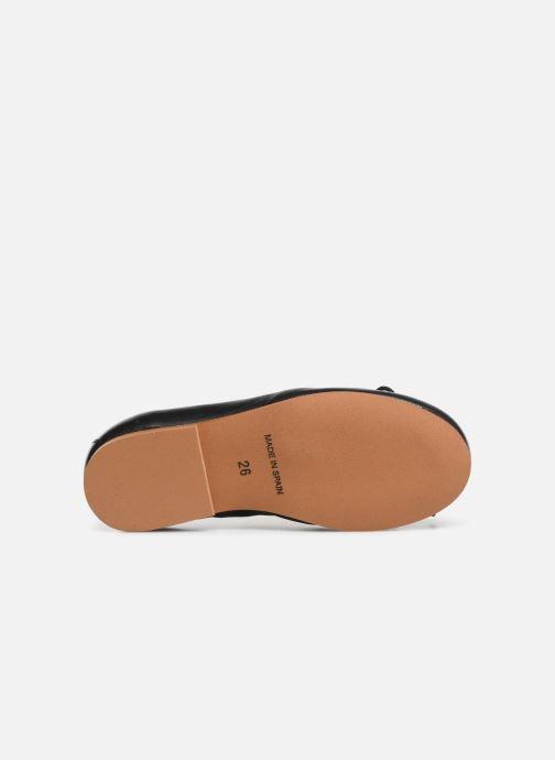 Ballerines I Love Shoes Borelina Leather Noir vue haut