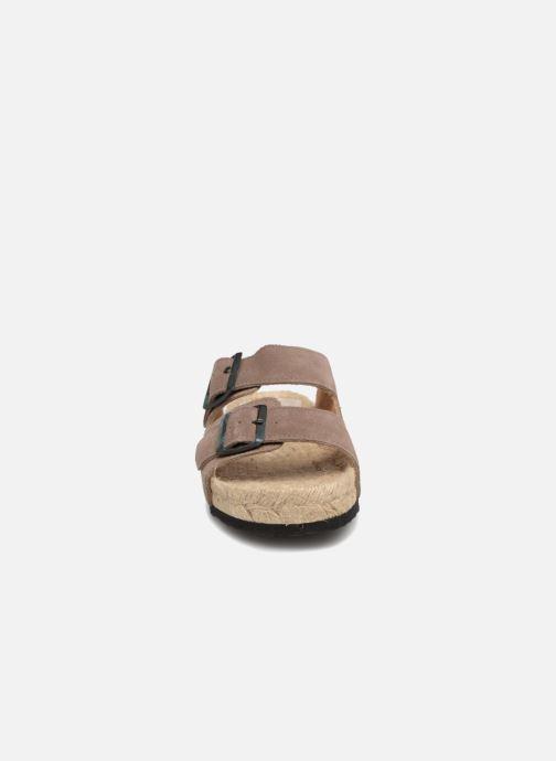 Espadrilles Manebi Hamptons K 1.9 R Marron vue portées chaussures