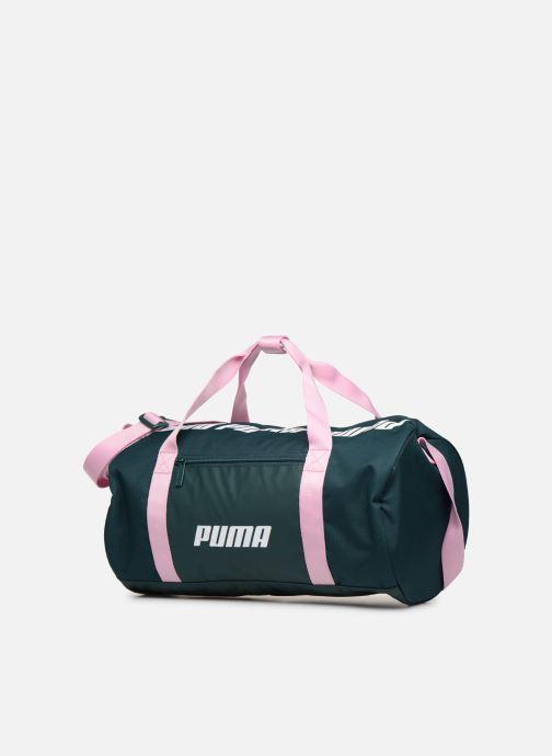 Sports bags Puma WMN CORE BARREL BAG S Green model view